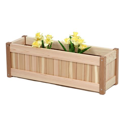 Patio Planter Box Plans by Planters And Planter Boxes By All Things Cedar Garden