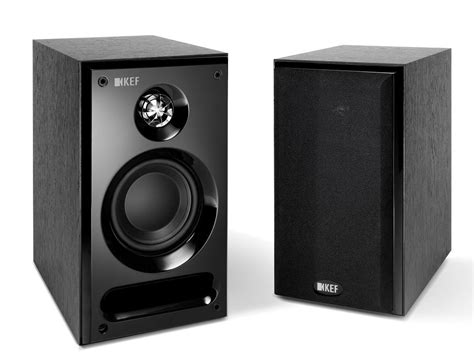 a1 sound kef c1 bookshelf speakers