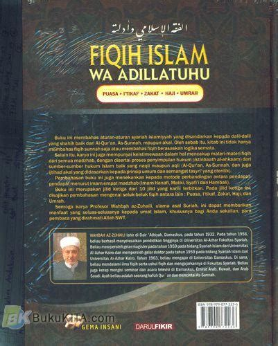 Fiqih Islam Buku Agama Islam B60 bukukita fiqih islam 3 toko buku