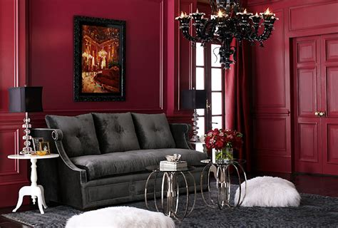 Crimson Bedroom Ideas by Ispirato Design Two Cocktail Tables Instead Of One