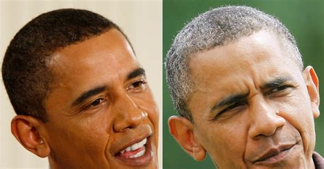 ms obamas hair new cut president obama says he s never dyed his hair ny daily news