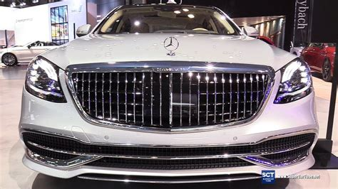 2019 Mercedes Maybach S650 by 2019 Mercedes Maybach S Class S650 Sedan Exterior