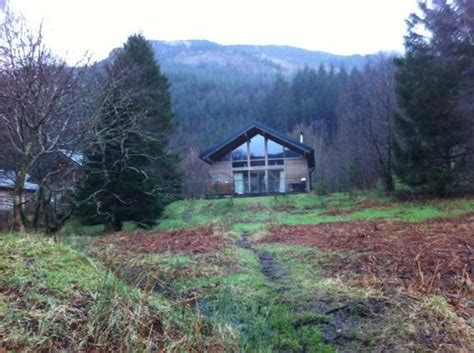 Loch Lubnaig Cabins by Cabin 32 From Shore Of Loch Lubnaig Picture Of Forest Holidays Strathyre Scotland Callander