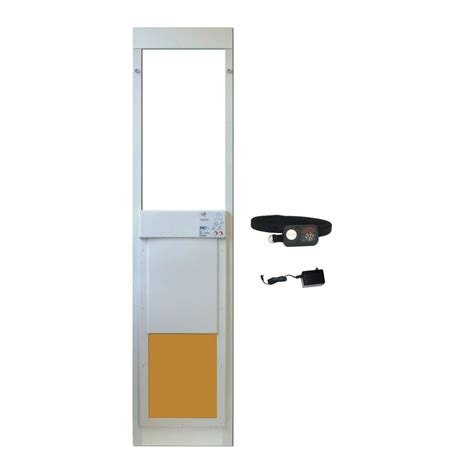 Collar Activated Door by High Tech Pet 12 In X 16 In Power Pet Electronic Patio