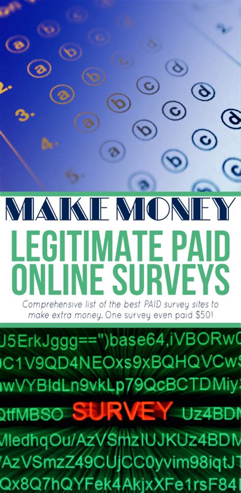 Earn Money Doing Surveys - make money doing online surveys savings lifestyle
