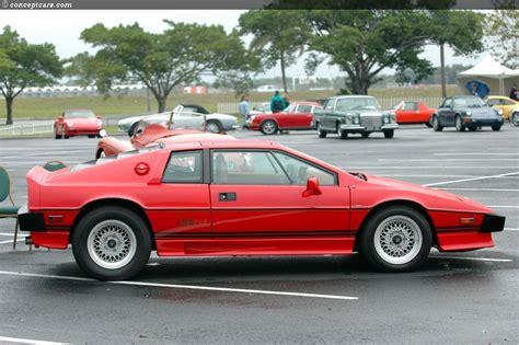 1986 lotus esprit car photo and specs 1986 lotus esprit image