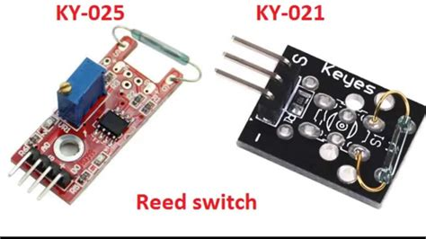 Ky 025 Reed Switch Magnetic Sensor Module For Arduino Avr Pic Baru ky 025 and ky 021 reed switch doovi