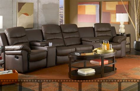 movie room recliners leather media room seating universalcouncil info