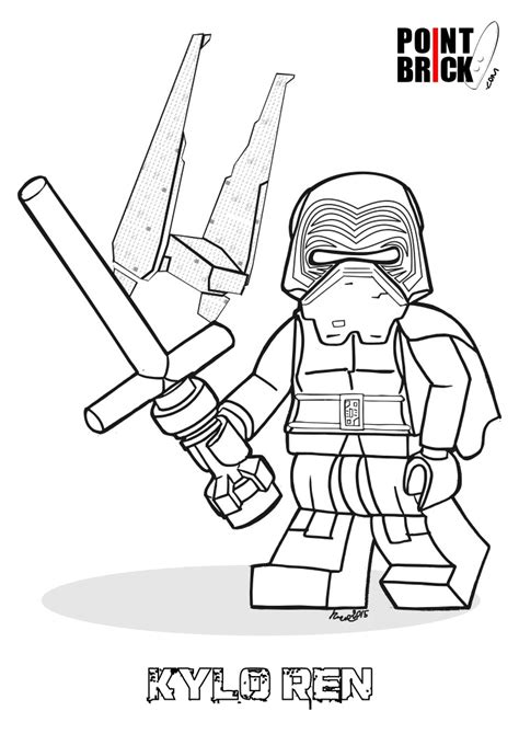 coloring pages wars awakens disegni da colorare lego wars the awakens