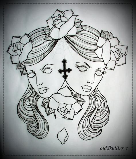 hot tattoo outlines tattoo girl tattoo outline designs pictures to pin on