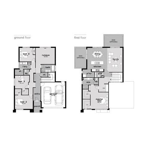 aspen homes floor plans apen double storey home design ballarat builders