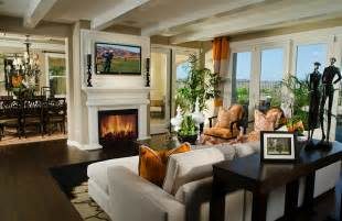 Where To Place Tv In Living Room With Fireplace Tv Above Fireplace Design Ideas