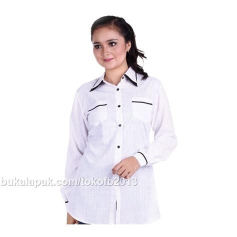 Pakaian Wanita Baju Kemeja Kemeja Hem jual kemeja blouse arc 004 kemeja wanita shirt blouse atasan baju wanita baju kerja