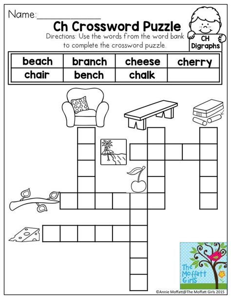 printable puzzle packets digraphs ch words no prep packet activities phonics