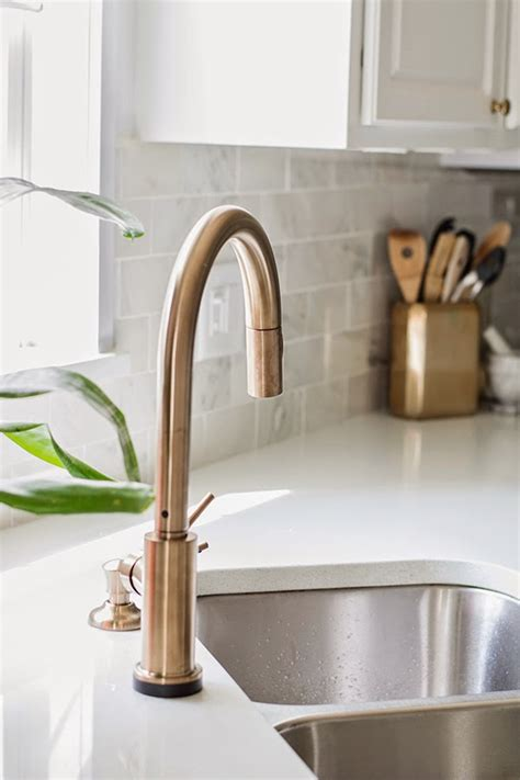 How To Install New Kitchen Faucet Our Shiny New Faucet Cuckoo4design