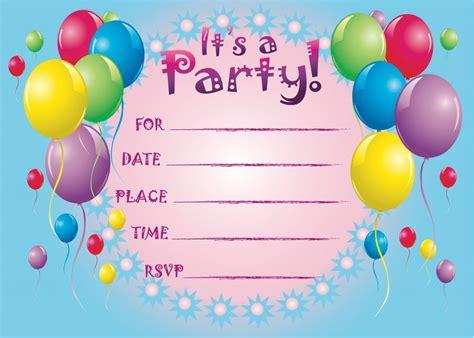 printable birthday invitations  pretty invitations  greeting cards