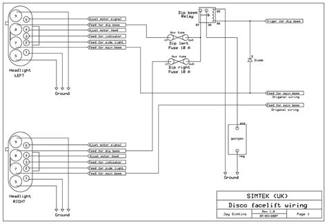 land rover defender tow bar wiring diagram 42 wiring