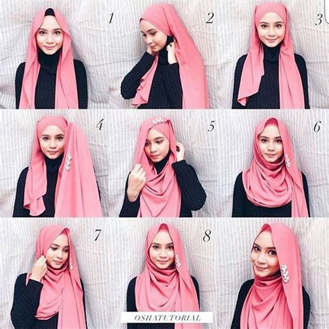 tutorial pashmina rumbai 201 best images about hijab tutorials on pinterest