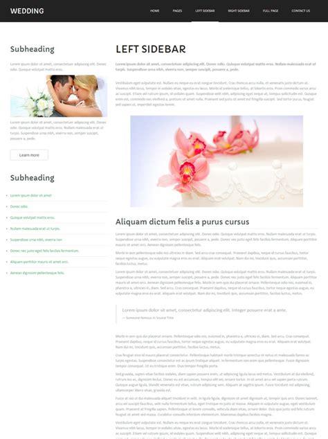 bootstrap templates for matrimonial matrimony website template wedding website templates