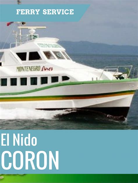 fast boat el nido to coron fast ferry from el nido to coron online booking