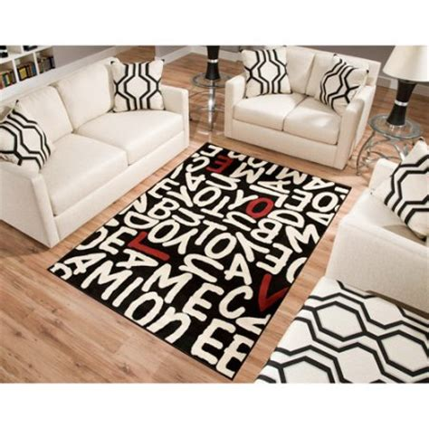 Walmart Floor Rugs by Terra Rectangle Area Rug Black Walmart