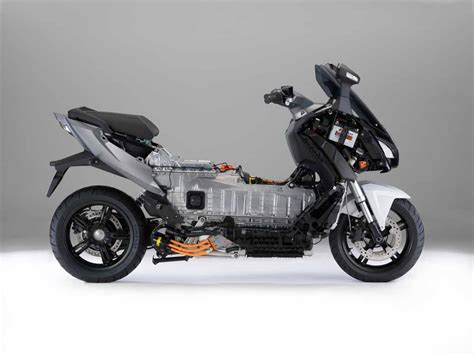 official production bmw c evolution electric scooter