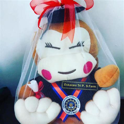 Boneka Wisuda Monyet boneka wisuda monyet uad kado wisudaku