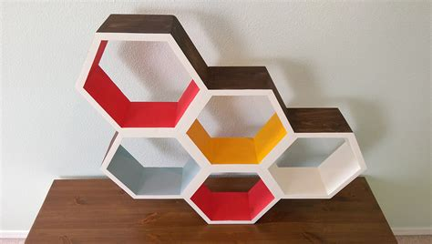 diy honeycomb shelves make your own honeycomb shelves make