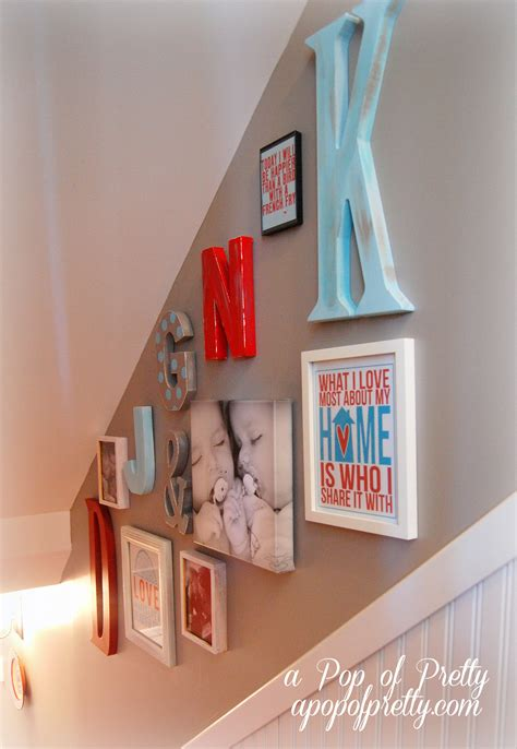 home design blog canada decorating with letters a pop of pretty blog canadian