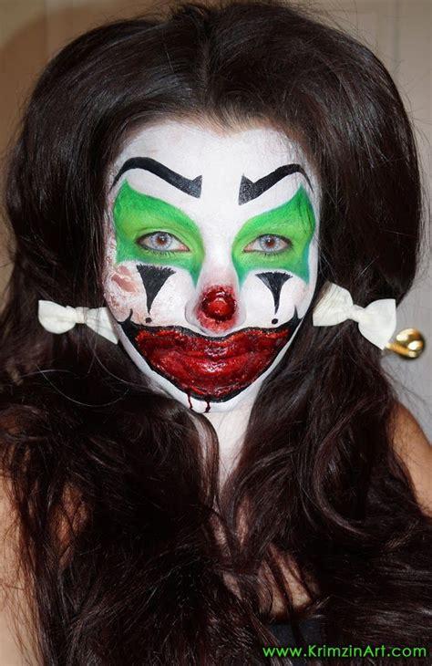 zombie clown tutorial video tutorial killer clown esmeralda scary clown