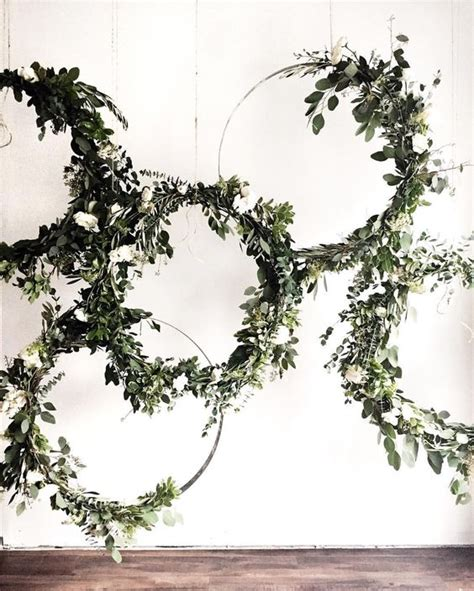 Wedding Backdrop Greenery by 30 Unique And Breathtaking Wedding Backdrop Ideas