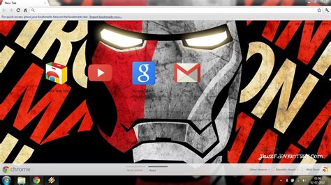 theme google chrome running man iron man 2 0 chrome theme by jawzf on deviantart