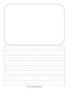 Free Writing Templates by Drawing Writing Template Writing Template