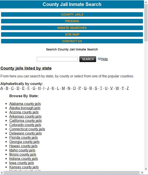 County Inmate Records County Inmate Search Android Apps On Play