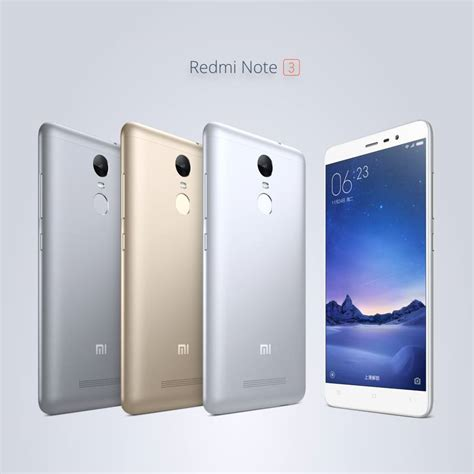 Xiaomi Redmi Note 3 Pro Tam Grey Only redmi note 3 pro with snapdragon 650 announced in china