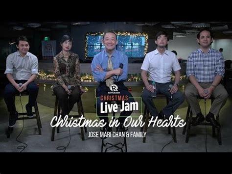 christmas songs jose mari chan lyrics vidoemo emotional unity