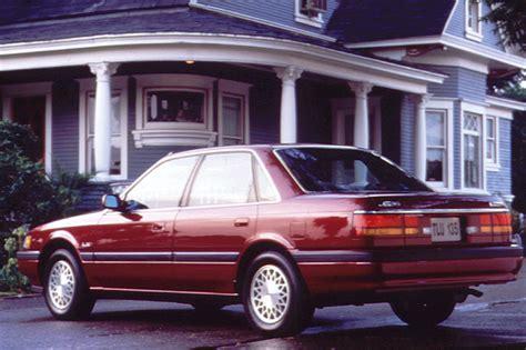Built In Window Seat 1990 92 mazda 626 consumer guide auto