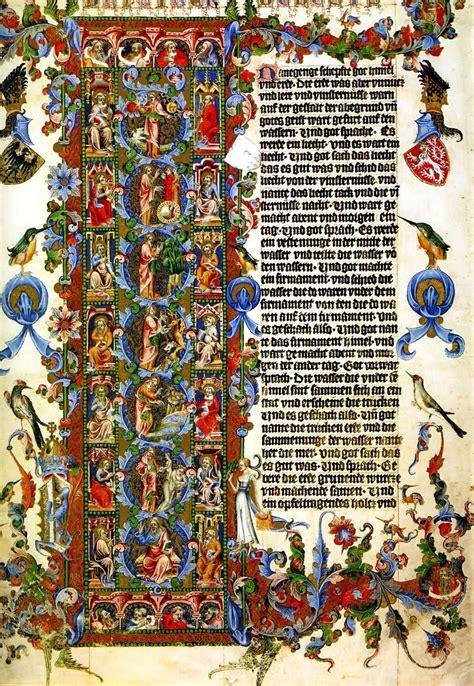 quot the letter l genesis the wenceslas bible 1389