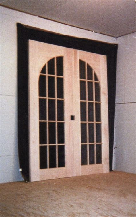 Arched Top Interior Doors - wood custom doors jim illingworth millwork llc