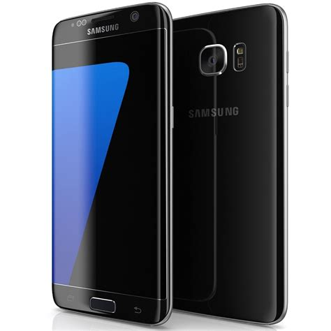 telefon mobil samsung galaxy s7 edge 32gb sm g935f black world comm the phone warehouse