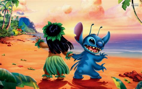 wallpaper cartoon stitch lilo and stich wallpapers wallpaper cave
