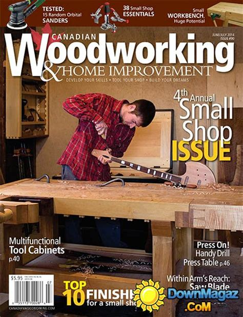 canadian woodworking home improvement  junejuly