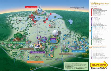 disney maps orlando florida area maps