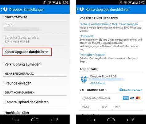 dropbox upgrade dropbox ordner k 246 nnen jetzt auch in der app geteilt