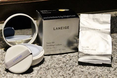 Laneige Snow Bb ameliatan s log laneige snow bb soothing cushion