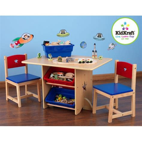 Handmade Childrens Furniture - kidkraft 5 furniture play table and chair