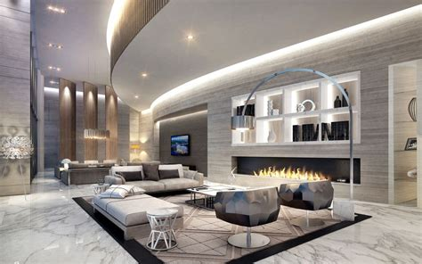 Marble Living Room by Modern Living Room With Complex Marble Tile Floors