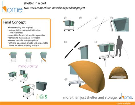 design brief for emergency shelter home for the urban homeless by taylor welden