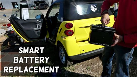 Smart Battery smart for two battery replacement removal 2008 2014