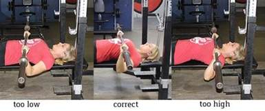 bench press placement what do you bench strength 101 the bench press